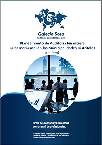 Planeamiento de Auditoria Financiera Gubernamental