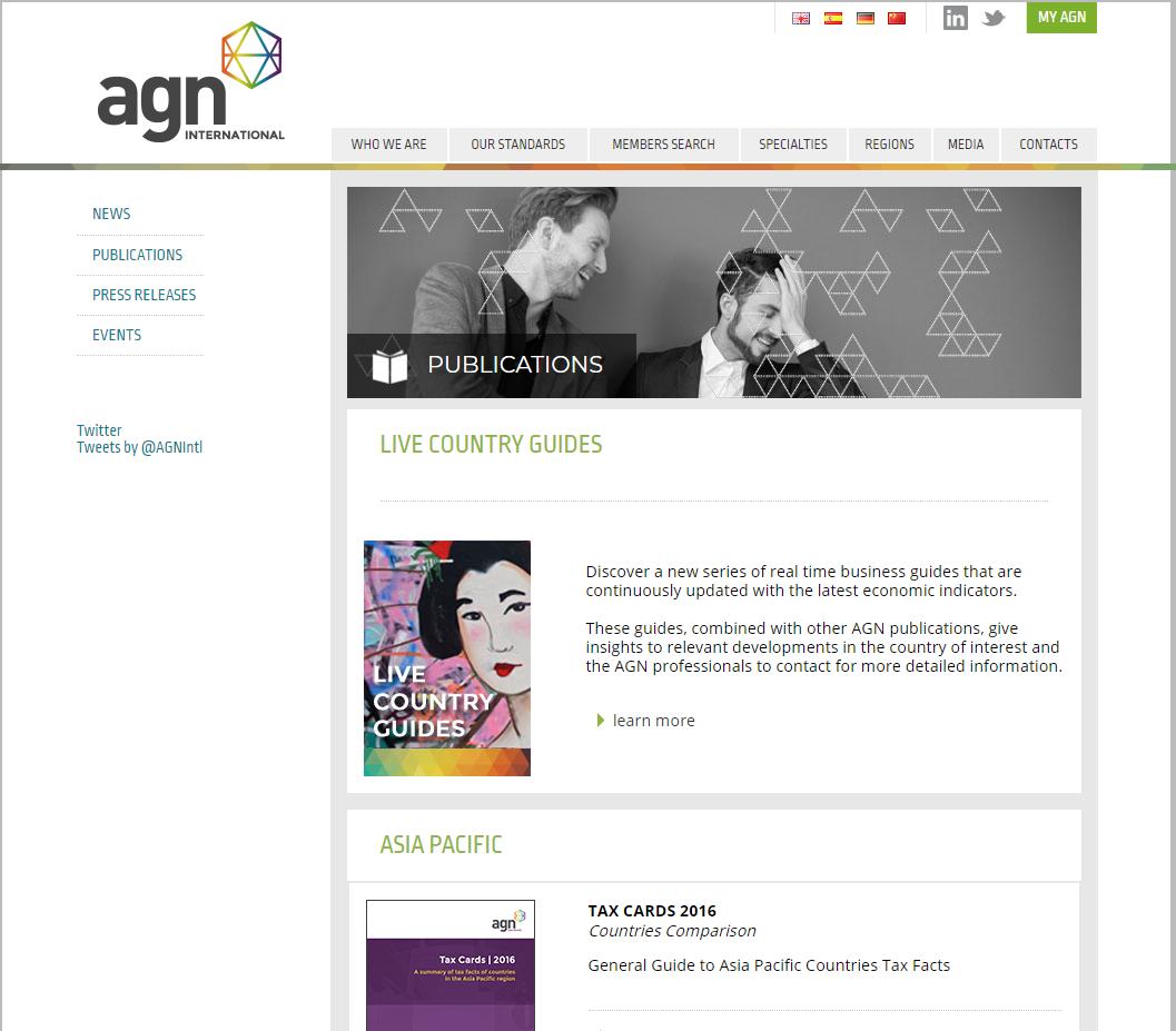 AGN Internacional – Publicaciones